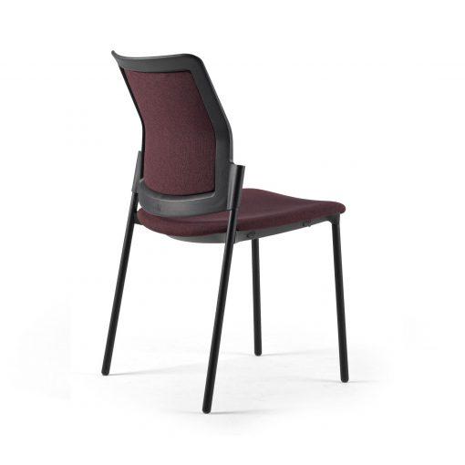 silla urban cuatro patas vino