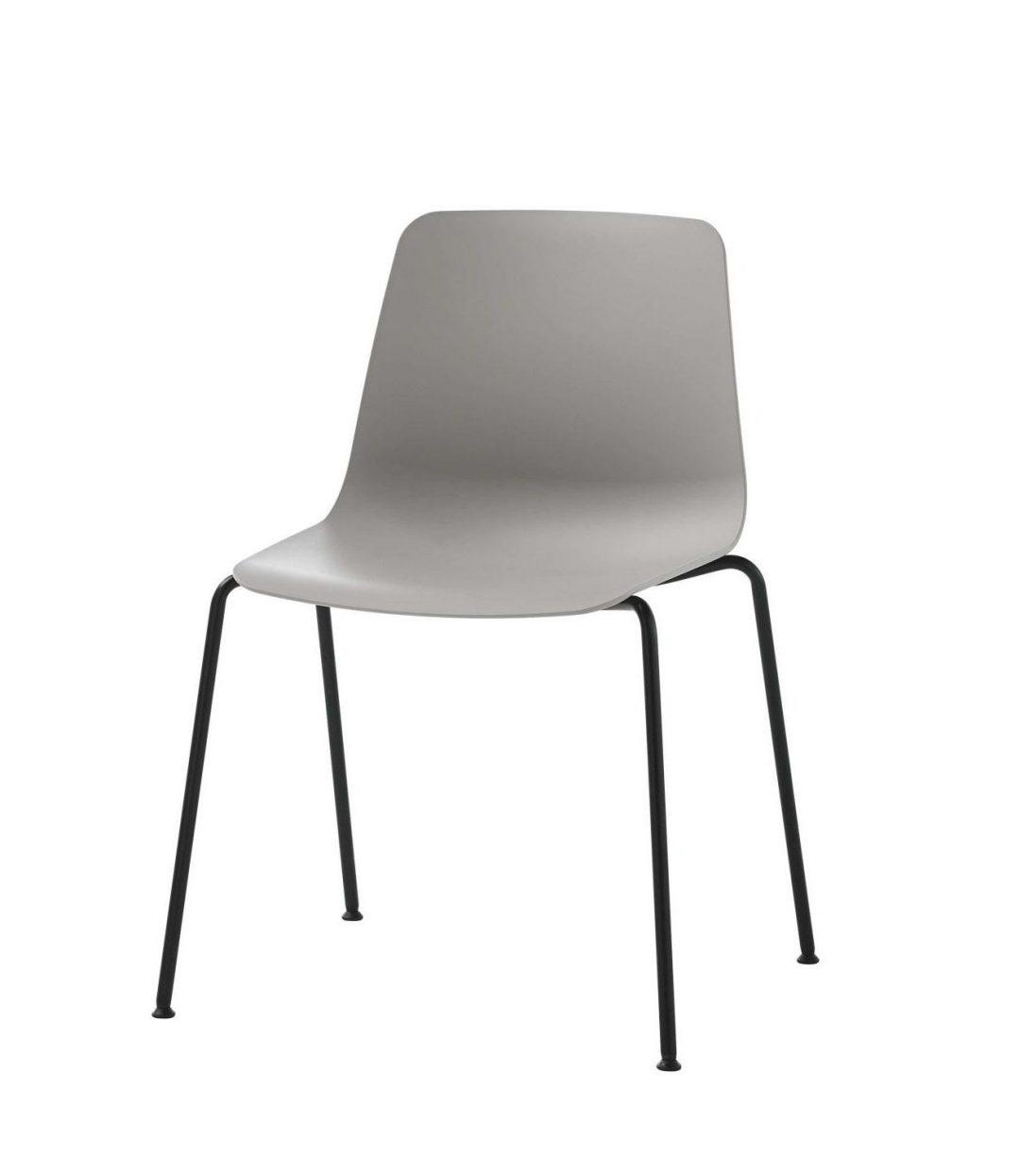 silla varya estrucutra negra