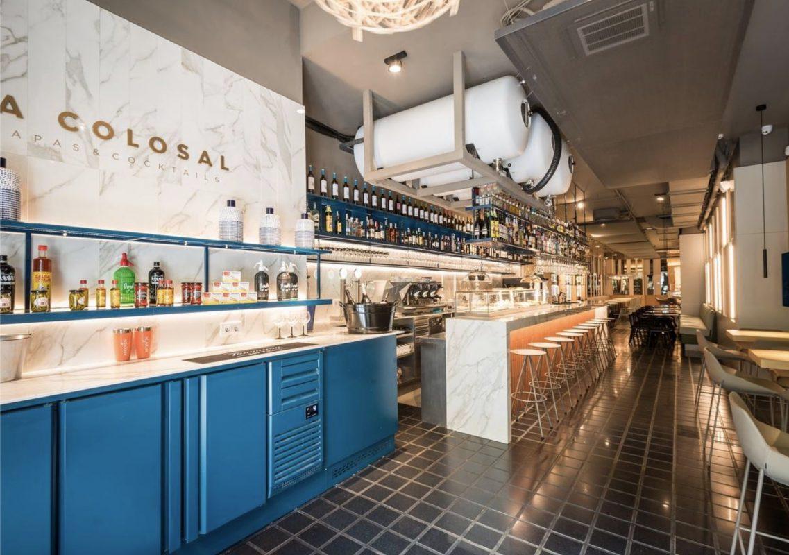 Restaurante la colosal proyecto sit down