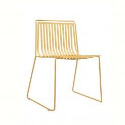 silla amarilla exterior ondarreta