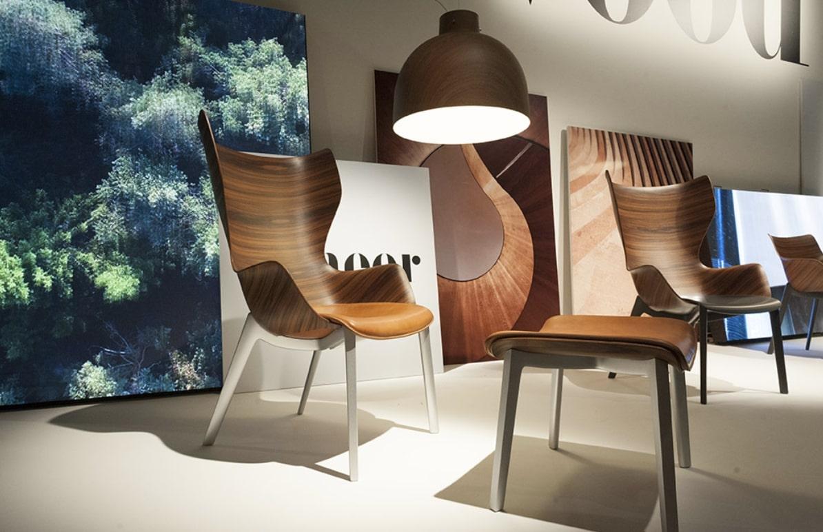 sillas madera feria milán
