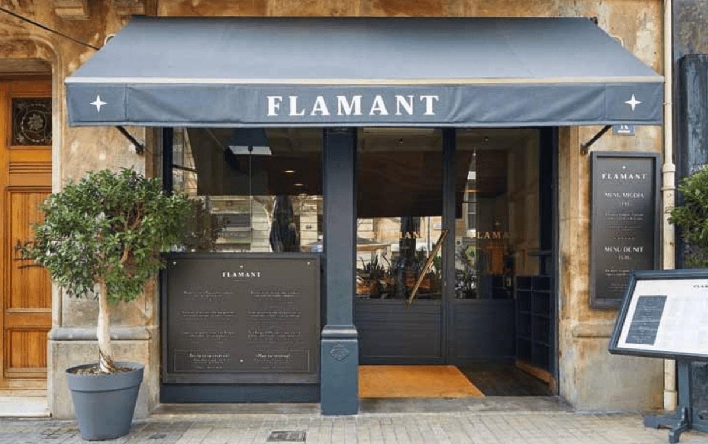 entrada restaurante flamant